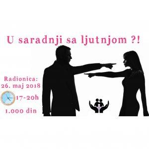 Radionica: U saradnji sa ljutnjom?! 26.05.2018 @ Београд | Србија