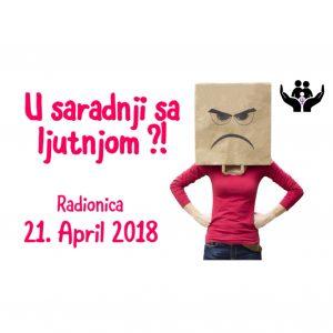 Radionica: U saradnji sa ljutnjom?! @ Beograd | Serbia